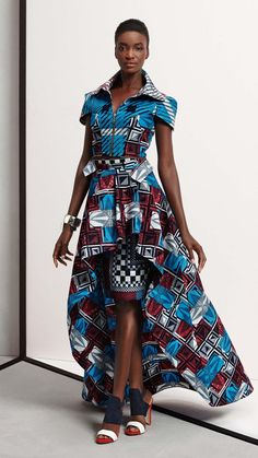 african fashion ideas looks trendy 99124 African Dresses For Women, African Print Dresses, African Print Fashion, Africa Fashion, African Attire, African Wear, Ethnic Fashion, African Women, African Prints