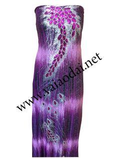 Mã sản phẩm: T017 (Áo dài hoặc Xường Xám)  Tham khảo tại website http://vaiaodai.net