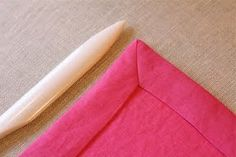 How to sew a miter corner