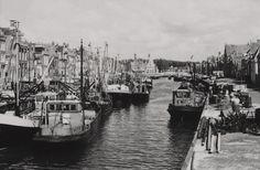 Harlingen - Noorderhaven - 1964 - fotograaf Kors van Bennekom (1933-2016) Was, Nostalgia