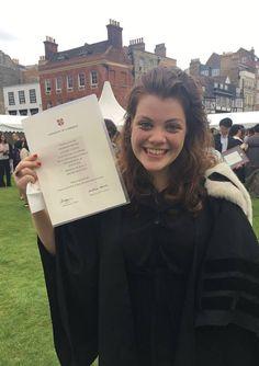 Elizabeth Rolly Finally getting her degree