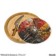 Whitetail In Autumn Cheese Platter