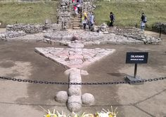 Salah satu arca nyeleneh di Candi Cetho, Karanganyar, Jawa Tengah
