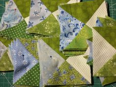 my En Provence mystery quilt
