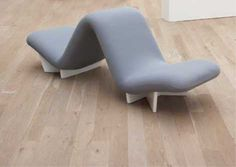 """PHILLIPS : UK050308, Pierre Paulin, Prototype """"Back-to-Back"""" chair, for the 2008 edition, designed 1967-1968"""