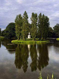 Schlosspark Wörlitz - Rousseau-Insel.