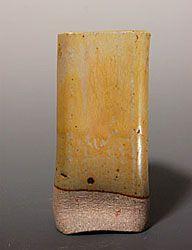 Autumn Yellow  Soda Feldspar – 43 EPK – 21 Dolomite – 14 Whiting – 9 Tin Oxide – 4 Bone Ash – 7 Bentonite – 2 Red Iron Oxide – ½%