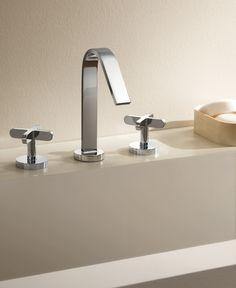Riviera collection by Fantini - Design: Mercatali and Pedrizzetti - #fantini #fratellifantini #fantinirubinetti #bathroom #bagno #faucet #rubinetto #homeideas #design #designinspirations #bathdesign #luxury #home #casa