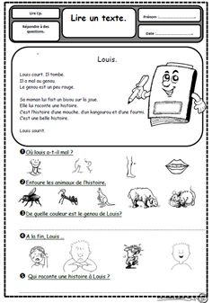 Teach Your Child to Read - Petits textes pour travailler la lecture et la comprhension en CP - organiser par son - Give Your Child a Head Start, and.Pave the Way for a Bright, Successful Future. French Teaching Resources, Teaching French, Reading Resources, French Worksheets, French Education, Core French, French Classroom, French Immersion, Texts