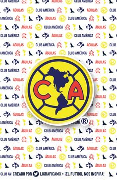 Club América • @LigraficaMX Chicago Bulls, Champion, Soccer Teams, Wallpapers, Happy, Soccer, Amor, Football Team Pictures, Club America