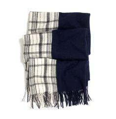 madewell fraction scarf. #everydaymadewell