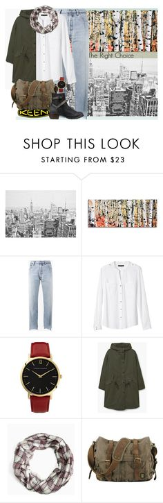 """So Fresh and So Keen: Contest Entry"" by ewa-kamila ❤ liked on Polyvore featuring Grandin Road, Vetements, Banana Republic, Larsson & Jennings, MANGO, Torrid, Keen Footwear and keen"