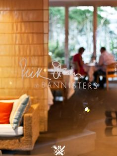 Rick Stein at Bannisters - Mollymook, NSW (A Table For Two) {with celebrity seafood chef, Rick Stein}