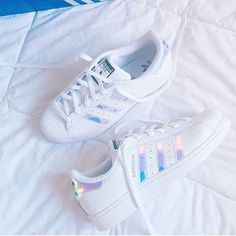 "17.1k Likes, 472 Comments - Hairstyles (@inspirehairstyles) on Instagram: ""Wear or tear?  credit: @misssjoolie #adidas #superstars"""