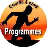 programme de course a pied