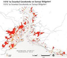 Gecekondu sites in Istanbul