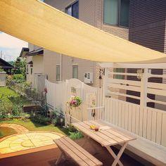 Entrance/DIY/ガーデン/ベンチ/ナチュラルカントリー/カフェコーナー...などのインテリア実例 - 2016-06-10 07:12:49 | RoomClip (ルームクリップ)
