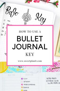 How to Use a Bullet Journal Key - The Complete Guide. Including: What is a bullet journal key? How to use a bujo key? Where do you put the key? Bullet journal key ideas and videos! Future Log Bullet Journal, Bullet Journal Legend, Bullet Journal Vidéo, Bullet Journal For Beginners, Creating A Bullet Journal, Bullet Journal How To Start A, Bullet Journal Spread, Bullet Journal Layout, Bullet Journal Ideas Pages