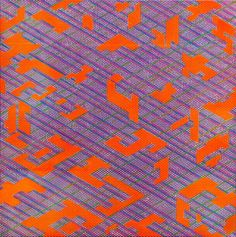 """""""Synthesis Orange Blue Yellow,"""" abstract painting by Colin McCallum  
