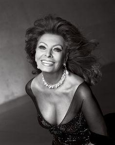 Sophia Loren by Sante D'orazio