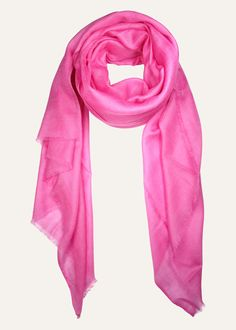 Made from pure Tibetan cashmere, this sorbet toned scarf by Ezma is featherlight and delightfully soft. Perfect for the plane.