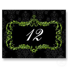 #green #elegant #wedding #tablenumbers by #mgdezigns . The image ,design and idea is copyright @Maria.G all rights reserved.You can REPIN it.