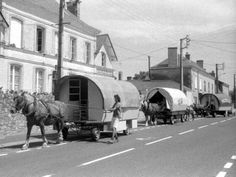 Convoi de roulottes