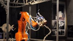 Students Develop 6-Axis Robotic 3D Printer Inspired by Spiderwebs. [3D Printing News: http://futuristicnews.com/tag/3d-printing/ 3D Printers: http://futuristicshop.com/category/3d-printers/]