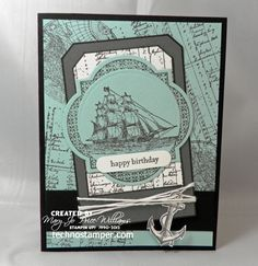 Techno Stamper: Try Stamping on Tuesday Challenge 113