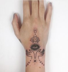 Image result for handpoke ankle tattoo
