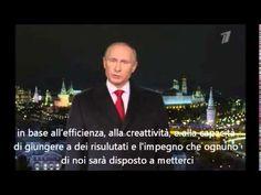 Il discorso di Capodanno del Presidente della Russia Vladimir Putin - Lo...