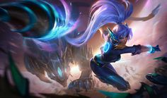 Super Galaxy Nidalee - League of Legends