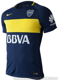 Camisetas Nike de Boca Juniors 2016-17 … Soccer Cleats 10933c4090c3d
