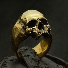 """Skull jewelry "" Only at intothefirejewelry.com - Skull Rings Hand Carved by Demitri Bakogiorgis Owner of Into The Fire Jewelry #skull #skulls #skullring #skullrings #skullpendant #skullart #skullpainting #silverskullring #silverskullrings #skulljewelry #biker #bikerring #lanyard #humanskull #harley #vampire #tattoo #tattoos #rebel #fire #witch #goth #gothic #jewelry #silver #gold #bike #intothefirejewelry"