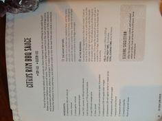 Citrus Rum BBQ Sauce (crock pot)