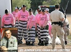 """My favorite Sheriff Joe quote when he told all the inmates who were complaining of the heat in the tents: """"It's between 120 to 130 degrees in Iraq and our soldiers are living in tents there too, and they have to walk all day in that sun, wearing full battle gear and getting shot at, and THEY have not committed any crimes, so shut your damned mouths!"""""""