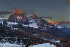 Tofane in red by luca-lanzani. Please Like http://fb.me/go4photos and Follow @go4fotos Thank You. :-)