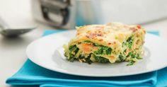 Recette de Lasagnes allégées saumon, épinards et gruyère. Facile et rapide à réaliser, goûteuse et diététique. Ingrédients, préparation et recettes associées.