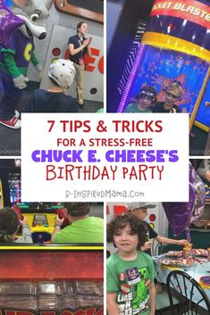 Chuck E. Cheese Birthday Party Packages make kids' parties pretty stress-free as it is. But here are some simple tricks to make it even easier and more fun! Birthday Star, 4th Birthday Parties, Birthday Diy, Chuck E Cheese Birthday, Mario Party, Party Guests, For Your Party, Fun Learning, Birthday Party Invitations