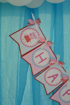 Peppa Pig Birthday Party Ideas | Photo 4 of 41 | Catch My Party