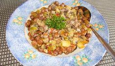 Weinig tijd, maar wel gezond willen eten? Met kapucijners uit pot of blik ben je heel snel klaar en kun je veel lekkers maken. Ik had diverse groentenresten...