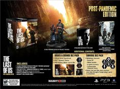 Another game I want w/special edition: #TheLastOfUs: Post-Pandemic Edition for @Playstation.