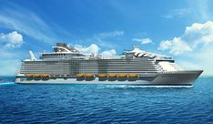 Royal Caribbean's next Oasis-class ship, Harmony of the Seas, will feature a mixture of first-introduced-on-Quantum- and Oasis-class experiences, as well as brand-new additions, including the line's first-ever waterslides.