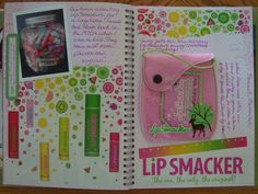 smashbook page lots of ideas
