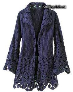 ABRIGOS-JERSEYS - nany.crochet - Albumes Web de Picasa por tabu-sam