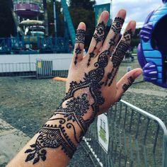 My new henna! #henna