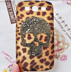 Leopard print phone case for Sumsung Galaxy S3 by Flowergifts, $7.00