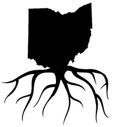 Ohio Home Grown Roots by DecalPhanatics on Etsy