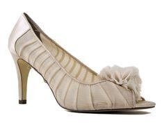 Alfani Women's Daria Open-Toe Dress Pumps French Cream Size 6 M #Alfani #OpenToe