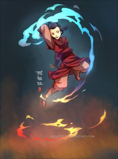 Fire Prodigy _ Azula by *kelly1412 on deviantART